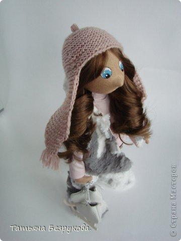 Текстильная кукла  Аня