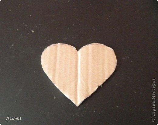 Мастер-класс Поделка изделие Валентинов день Шитьё Валентинка магнит Тесьма шнур Ткань фото 3