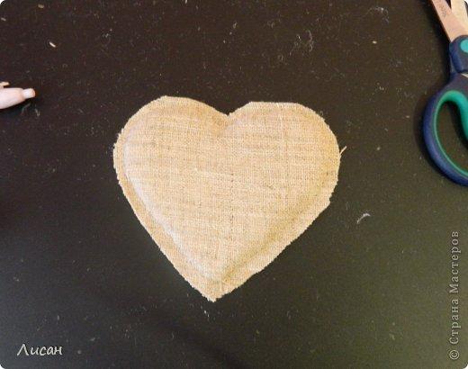 Мастер-класс Поделка изделие Валентинов день Шитьё Валентинка магнит Тесьма шнур Ткань фото 10