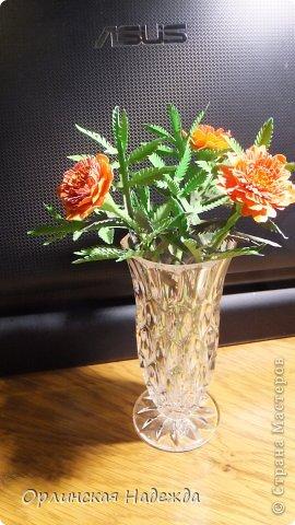 Добрый день любимая Страна! Сегодня я к Вам с повторюшками цветочков. Цветы увидела у замечательной мастерицы Татьяны ( Сапфир )  https://stranamasterov.ru/node/452732, очень понравились, попробовала тоже сделать, но у меня нет кристальной бумаги, поэтому я сделала из простой гофрированной. Татьяна, огромное Вам спасибо за Ваше творчество.  Уезжала надолго в гости к внукам, а когда вернулась, всё никак не могла настроится на творческую волну и решила пока попробовать свои силы вот в таких маленьких пробных цветочках.   Цветы нам дарят настроенье, И пробуждают вдохновенье, Как символ чистой красоты, Ведь очень трудно без мечты!  И остаётся прочно с нами, Всё то, что связано с цветами, В них растворились краски звёзд, И мир любви без мук и слёз!   Стихи Марка Львовского фото 10