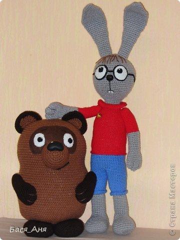 Сегодня мы к вам в гости с Винни Пухом и Кроликом. фото 2