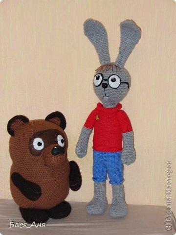 Сегодня мы к вам в гости с Винни Пухом и Кроликом. фото 4