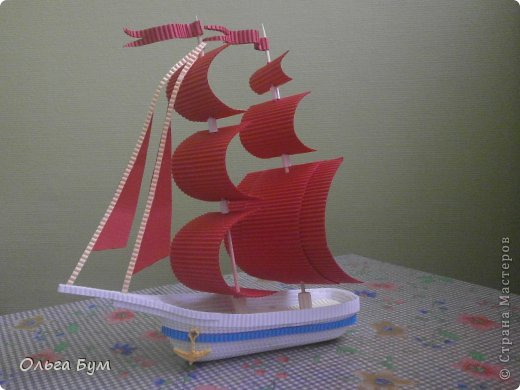 Поделки на 23 февраля кораблики своими руками