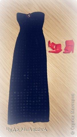 Всем привет! У меня две новеньких в этой работе вы их увидите. Сегодня сшила вот такое платье на конкурс, а сейчас познакомлю вас с именами моих новых красавиц, это Микаэла, и Шарлотта.  фото 8