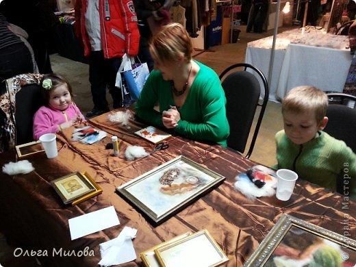Здравствуйте, дорогие мои девочки и мальчики! Сегодня я расскажу вам о своей поездке на фестиваль WoolАrtFest, который проходил в центре дизайна Artpley.  фото 35