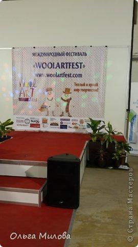 Здравствуйте, дорогие мои девочки и мальчики! Сегодня я расскажу вам о своей поездке на фестиваль WoolАrtFest, который проходил в центре дизайна Artpley.  фото 5
