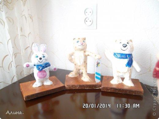 Добрый день Страна Мастеров! Хочу показать вам олимпийские символы, которые я делала для детского сада. Извиняюсь за фото, получились очень светлые, где бы я их не фотографировала..Получились они у меня или нет судить вам... фото 1