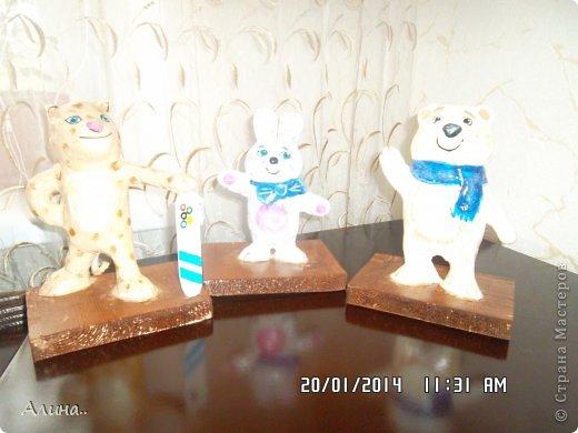 Добрый день Страна Мастеров! Хочу показать вам олимпийские символы, которые я делала для детского сада. Извиняюсь за фото, получились очень светлые, где бы я их не фотографировала..Получились они у меня или нет судить вам... фото 2