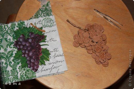 Картина панно рисунок Мастер-класс Ассамбляж Папье-маше Пробковое панно +рабочие моменты Бумага Картон Краска Материал природный Шпагат фото 12