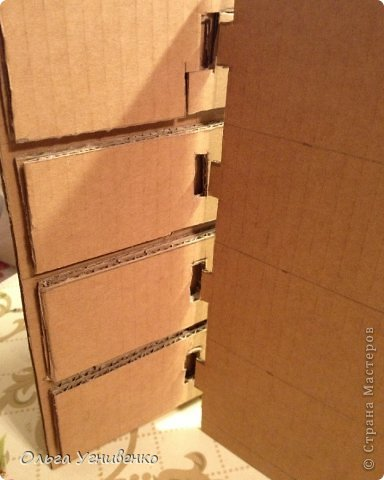 Мастер-класс Папье-маше Дворец для рукоделия Бумага Бумага газетная Коробки Пластика фото 5