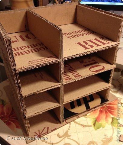 Мастер-класс Папье-маше Дворец для рукоделия Бумага Бумага газетная Коробки Пластика фото 6