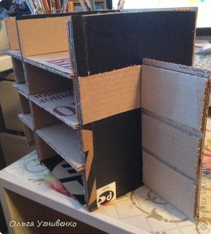 Мастер-класс Папье-маше Дворец для рукоделия Бумага Бумага газетная Коробки Пластика фото 7