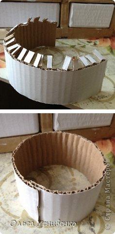 Мастер-класс Папье-маше Дворец для рукоделия Бумага Бумага газетная Коробки Пластика фото 15