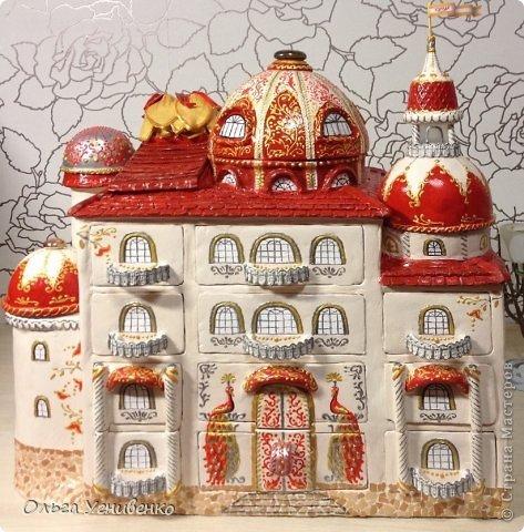 Мастер-класс Папье-маше Дворец для рукоделия Бумага Бумага газетная Коробки Пластика фото 1