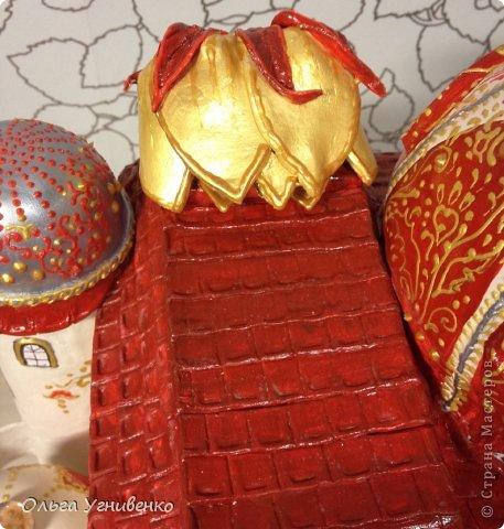 Мастер-класс Папье-маше Дворец для рукоделия Бумага Бумага газетная Коробки Пластика фото 30