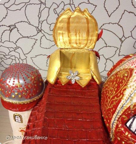 Мастер-класс Папье-маше Дворец для рукоделия Бумага Бумага газетная Коробки Пластика фото 31