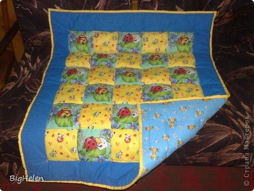 Одеяло детское для новорожденных своими руками