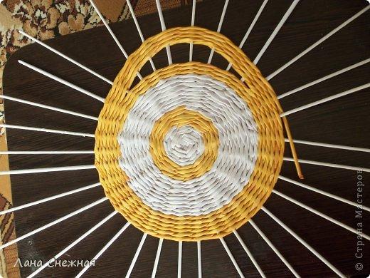 Мастер-класс Поделка изделие Плетение Сумочка для девчушки Бумага газетная Трубочки бумажные фото 2