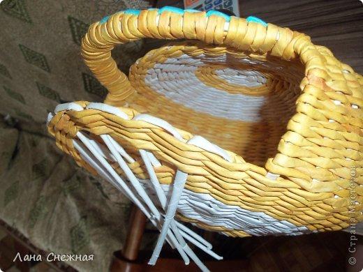 Мастер-класс Поделка изделие Плетение Сумочка для девчушки Бумага газетная Трубочки бумажные фото 7