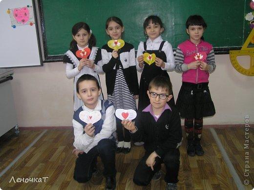 Мастер-класс Поделка изделие Аппликация Валентинка Бумага фото 27