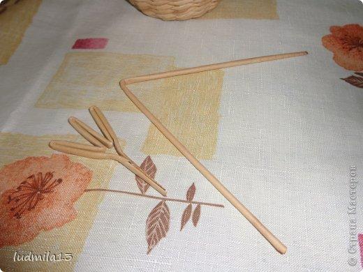 Мастер-класс Поделка изделие Пасха Плетение МК курочки Бумага газетная Трубочки бумажные фото 11