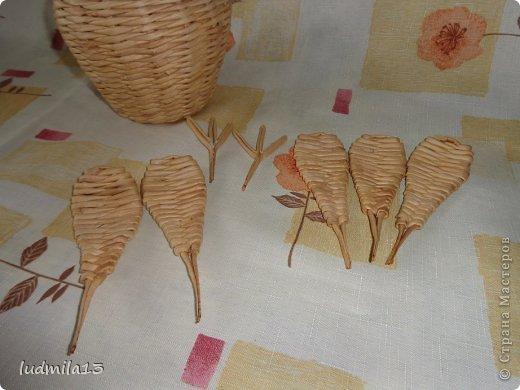 Мастер-класс Поделка изделие Пасха Плетение МК курочки Бумага газетная Трубочки бумажные фото 16