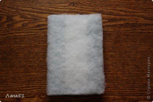 Мастер-класс Скрапбукинг Блокноты в мягкой обложке Бусинки Ленты Ткань фото 7