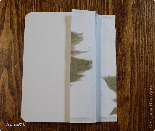 Мастер-класс Скрапбукинг Блокноты в мягкой обложке Бусинки Ленты Ткань фото 5