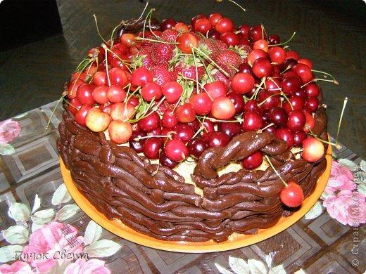 Мастер-класс ТОРТ Корзина ягод Продукты пищевые фото 1