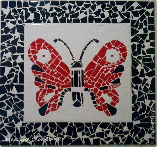 Мастер-класс Мозаика Мозаика из битой плитки Небольшой МК  фото 1