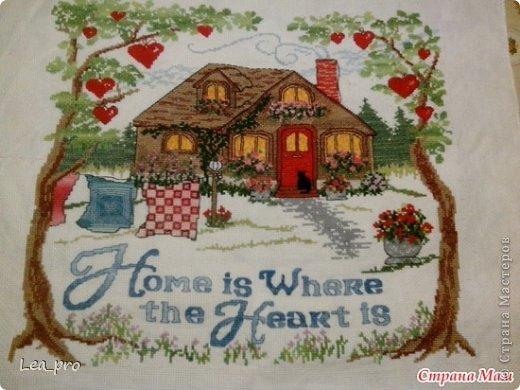 Дом Мечты Канва Нитки фото