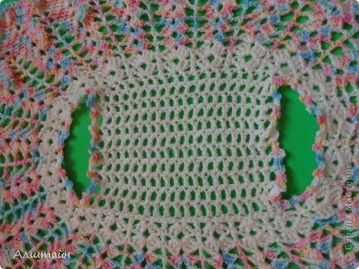 Гардероб Вязание крючком Болеро для девочки крючком Пряжа фото 3