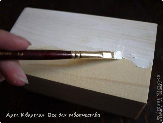 Пошаговый фото мастер-класс для декора стаканчика, например для кистей. фото 2