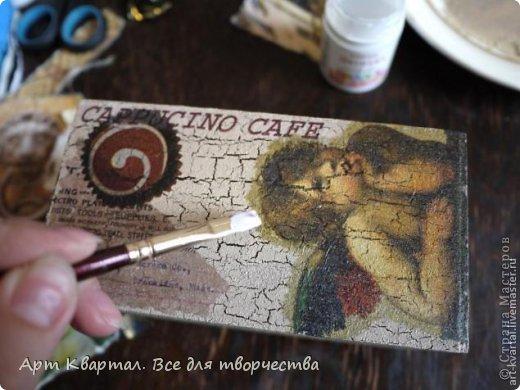 Пошаговый фото мастер-класс для декора стаканчика, например для кистей. фото 5