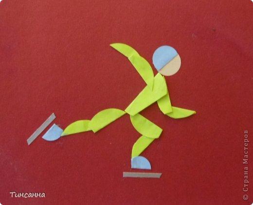 Спортивная поделка из бумаги