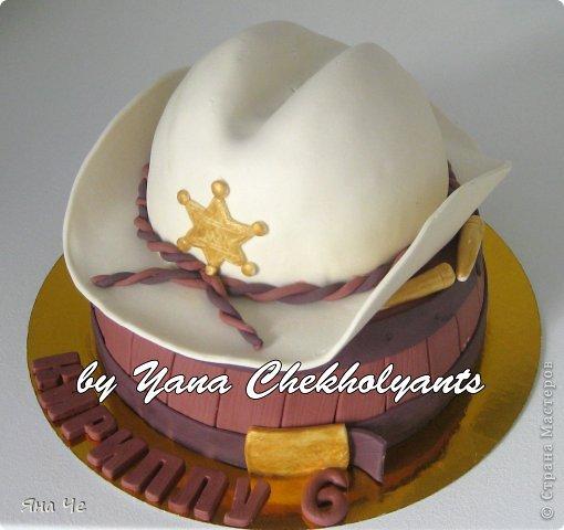Торт для ковбоя. Предлагаю Вашему вниманию небольшой МК по сборке такого тортика...