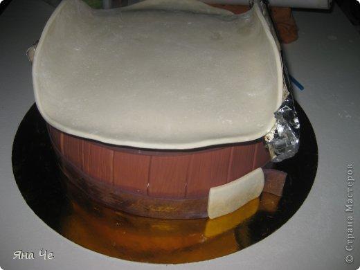 Торт для ковбоя. Предлагаю Вашему вниманию небольшой МК по сборке такого тортика... фото 5