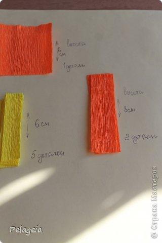 Мастер-класс Свит-дизайн 8 марта Моделирование конструирование Нарциссы МК Бумага гофрированная фото 4