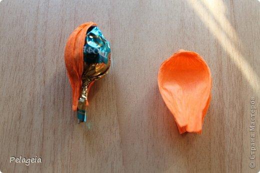 Мастер-класс Свит-дизайн 8 марта Моделирование конструирование Нарциссы МК Бумага гофрированная фото 7