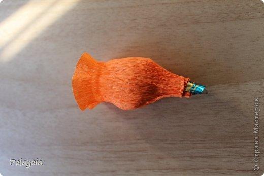 Мастер-класс Свит-дизайн 8 марта Моделирование конструирование Нарциссы МК Бумага гофрированная фото 9