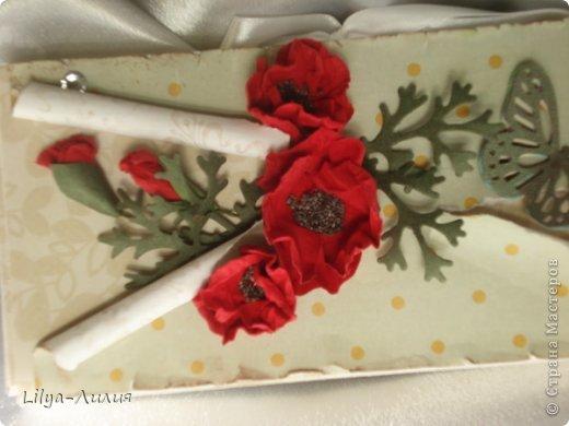Шоколадницы на 8 марта! Простите за качество фото, фотоопорат видимо сломался((   Все цветочки самодельные. фото 6