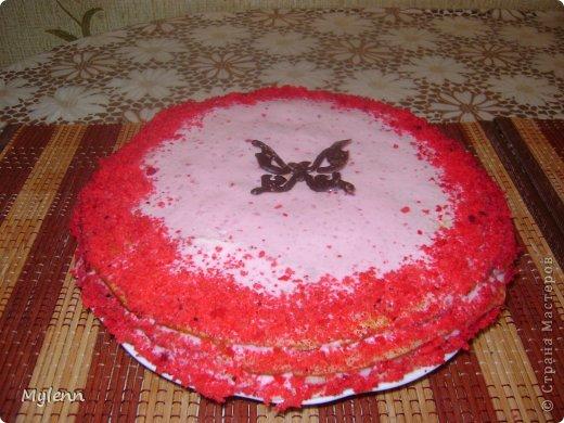 Доброго времени суток всем заглянувшим:) Еще одна вариация на тему Масленицы-Блинный торт со сметанно-малиновым суфле. фото 11