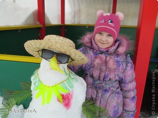 Наши снеговики ждут поддержки)))