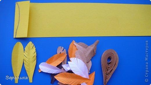 Мастер-класс Поделка изделие Пасха Квиллинг Курочка Ряба Бумажные полосы фото 6