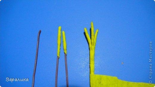 Мастер-класс Поделка изделие Пасха Квиллинг Курочка Ряба Бумажные полосы фото 8