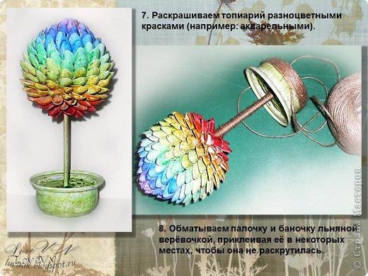 Бонсай топиарий Мастер-класс Моделирование конструирование Топиарий МК фото 5