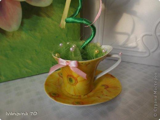Добрый день всем жителям Страны и ее гостям! Вот такой чудик в желтой чашечке у меня поселился! фото 20