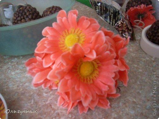 Здравствуйте дорогие мастера и мастерицы! Скоро 8 марта и наделались у меня вот такие цветочки...кофеюшные подарочки. Вдохновила меня на такие подарочки Ирина, вот ее работы: https://stranamasterov.ru/node/730262 только у нее монетки, а у меня кофе... фото 15