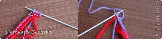 Мастер-класс Поделка изделие Вязание спицами Мячи из остатков пряжи МК и описание Пряжа фото 6