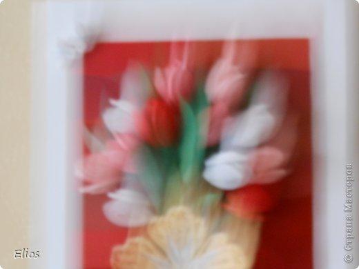 Открытка с тюльпанами фото 3